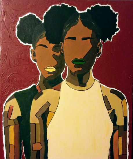 Twin Puffs by Mikela Henry-Lowe