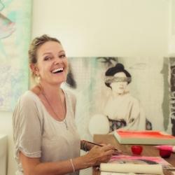 In the Studio with Irene Hoff