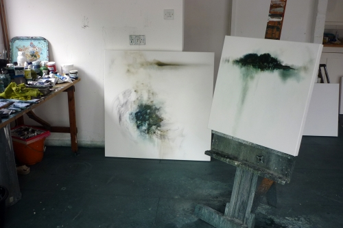New work in the studio
