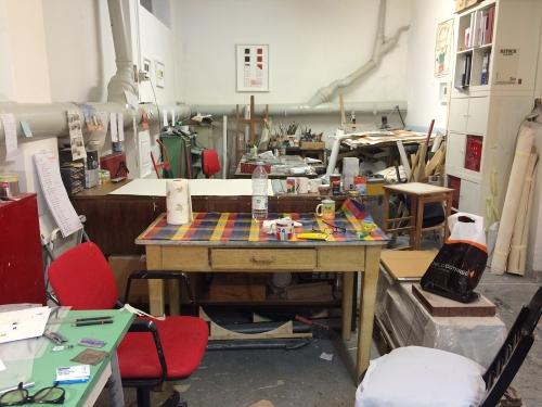Making prints in Milano