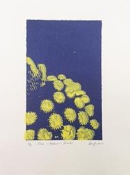 Blue - Yellow- Flower