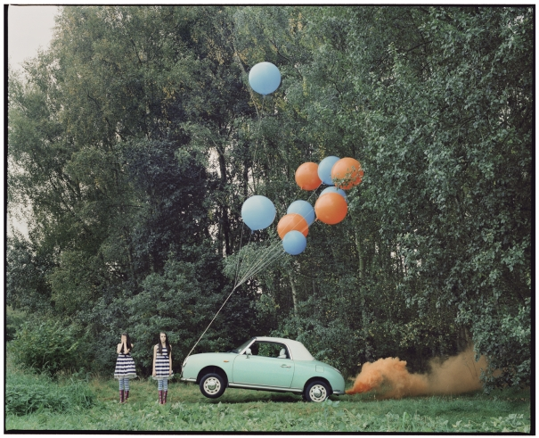 The Twins & the Green Car - 6 (medium size) by Vikram Kushwah