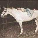 Emily and the White Horse (medium size)