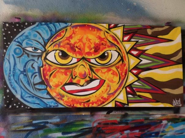 Sun/Moon by JOHN GUZI
