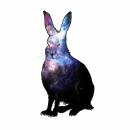 Snow Hare Cosmic Camouflage
