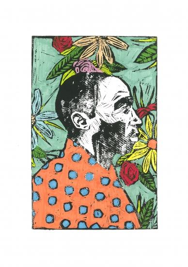 Man, I like flowers 03 by lee ellis