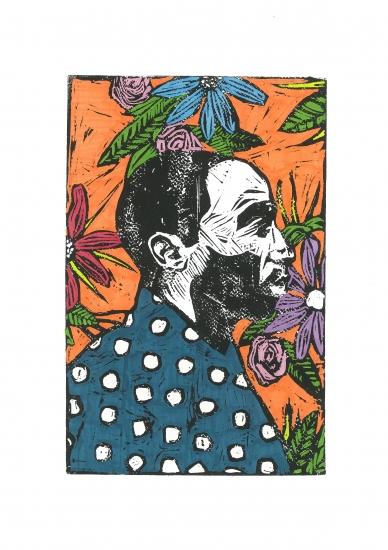Man, I like flowers 06 by Lee Ellis