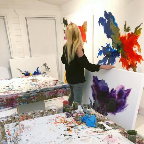 Preparing for Conversations in Colour Exhibition