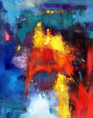 Vibrant abstract 344