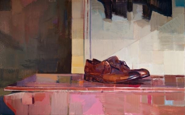 Brown Shoes by Hiroshi Sato