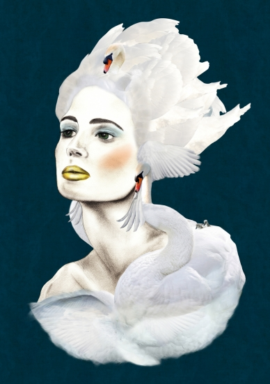 White Swan by Ellie Vandoorne