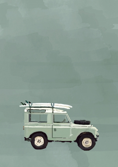 Green Landy  by Sarah Allderman