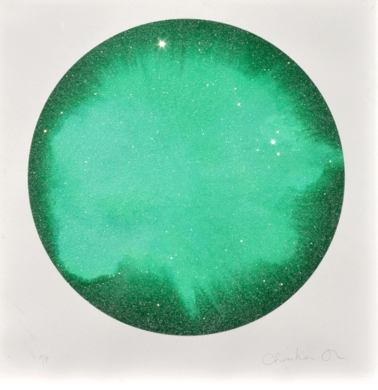 O Love, O pure deep Love, be here, be now - Jouissance, Verdant Green by Jouissance Furr