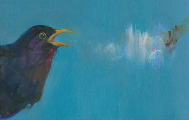 Cursing Blackbird by Gabhann Dunne