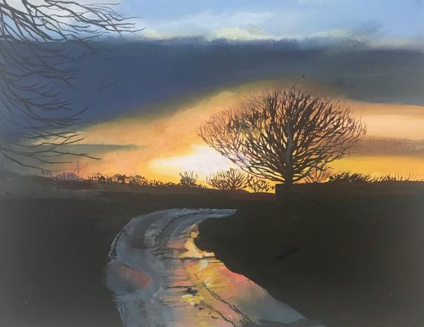 Afterglow by Daisy Clarke
