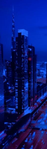 Untitled (Blue Light VI)