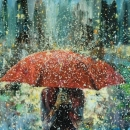 'RED UMBRELLA' Limited Edition Print