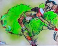 "Degas ""Two Dancers Resting"" Redrawn: Vandalised Masters"