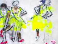 Degas Dancers ii Re-Drawn (Vandalised Masters)