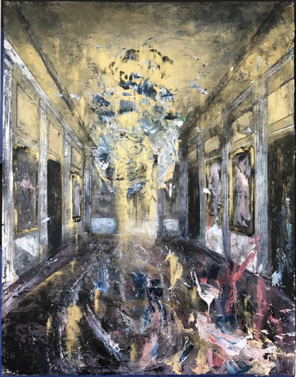 Governor's Mansion - Mirror Room, from the Colonial Suites series by Rogelio Baez-Vega