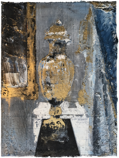 Mirror Room Sketch, from the Colonial Suites series by Rogelio Baez-Vega