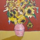 Sunflowers in November