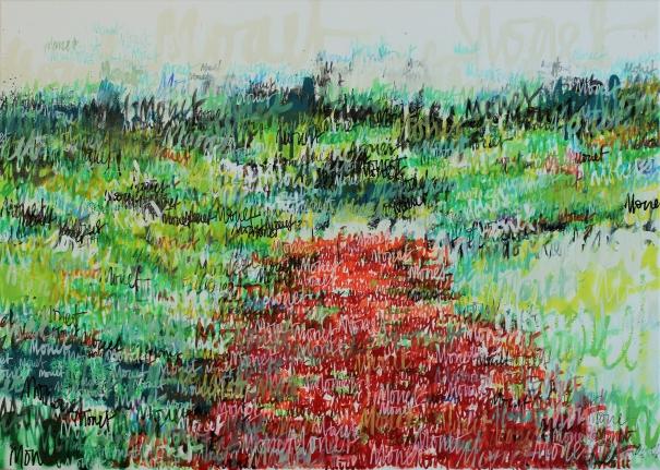 Monet Monet monet (Poppy Field) by Wayne Sleeth