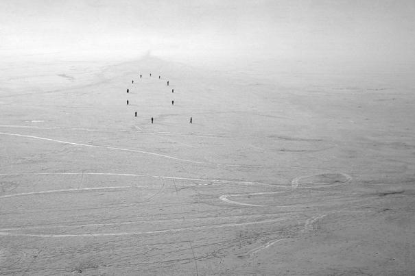 Looking for Utopia: Refugees (4) by Heja Rahiminia