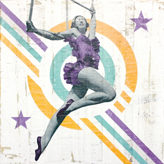 Trapeze Girl No.2 by Kareem Rizk