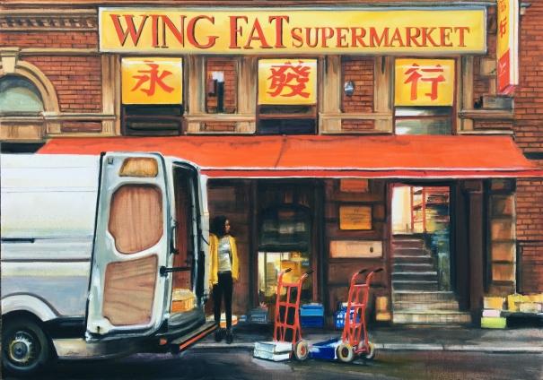 Wing Fat by Georgia Peskett
