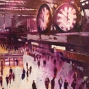 Under the clock, Waterloo