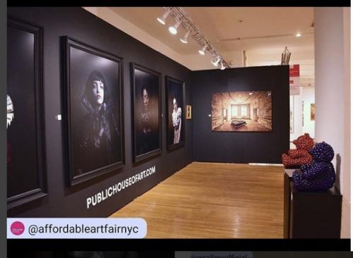 Affordable artfair New York, best booth