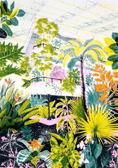 Barbican Conservatory by Jacqueline Colley