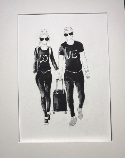 Love Travel by SOPIKO GELENIDZE-UVAKVE
