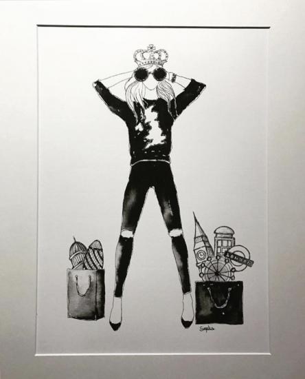 Queen of Shops by SOPIKO GELENIDZE-UVAKVE