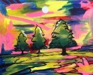 3 Neon Trees in the Sun