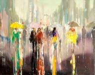 'Rainy Stroll'