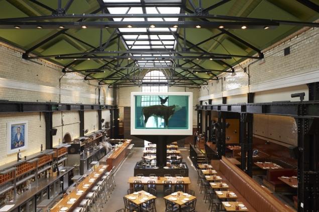 Art à la Carte: 6 London Restaurants with Notable Art