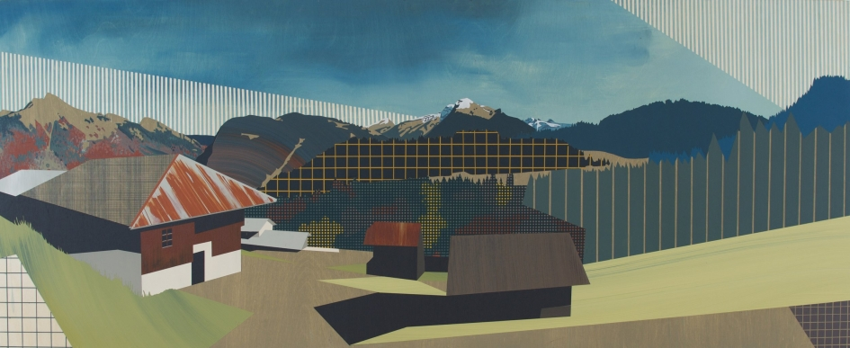 Aberdeen Meets the Alps | Emily Moore's Alpine Paintings on Panel