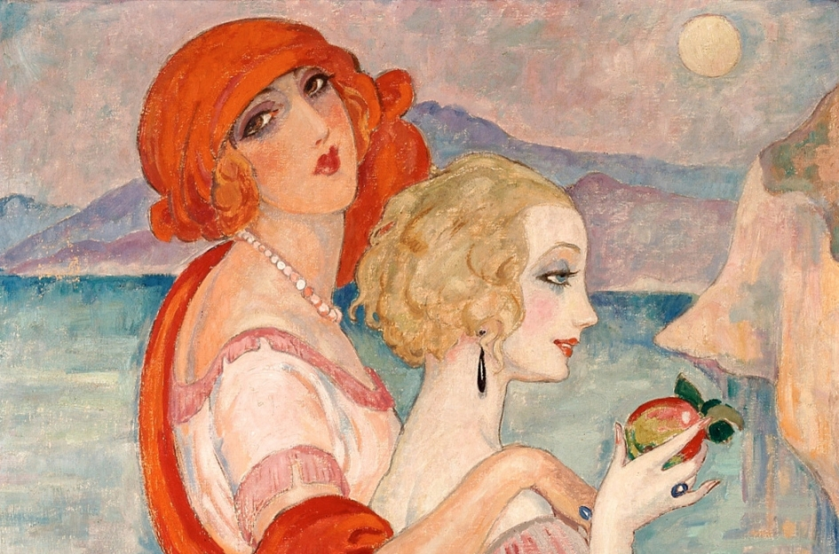 LGBT Artist Power Couple | Gerda Wegener and Lili Elbe