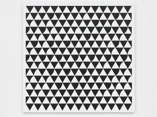 Rustle 6 by Bridget Riley, 2015