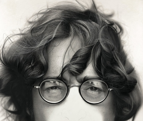 John Lennon Portrait in Progress