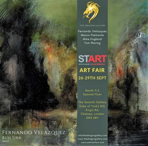 START Art Fair Saatchi Gallery 26th-29th September 2019