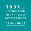 Rise Art: 100% for Artists