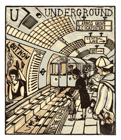 U underground by tobias till buy affordable art online for Buy affordable art online