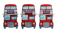 Three Routemasters