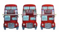 Three Routemasters