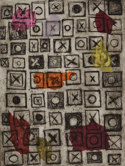 Noughts and crosses by Anne Marie Lepretre