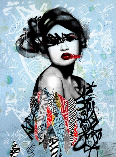 Unseen ii by hush buy affordable art online rise art for Buy street art online
