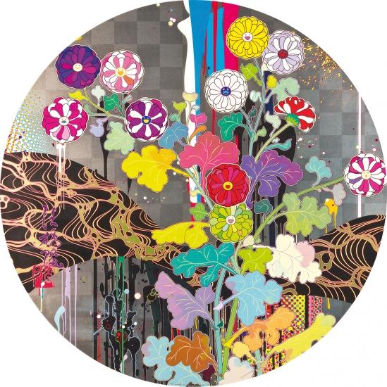 Kansei like the river s flow by takashi murakami buy for Buy affordable art online